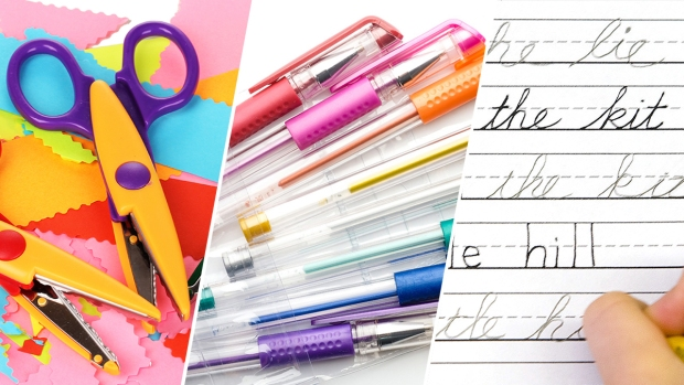Retro School Supplies You Used to Use in Class