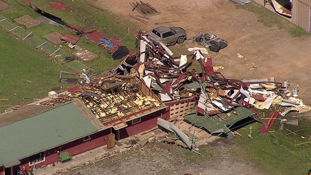 [DFW] National Weather Service to Assess Tornado Damage