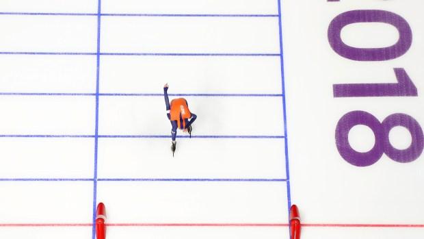 [NATL] Speedskater Sven Kramer Sets 3 Olympic Records as He Takes 5000m Gold