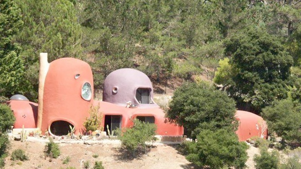 'Flintstones' House For Sale in Bay Area