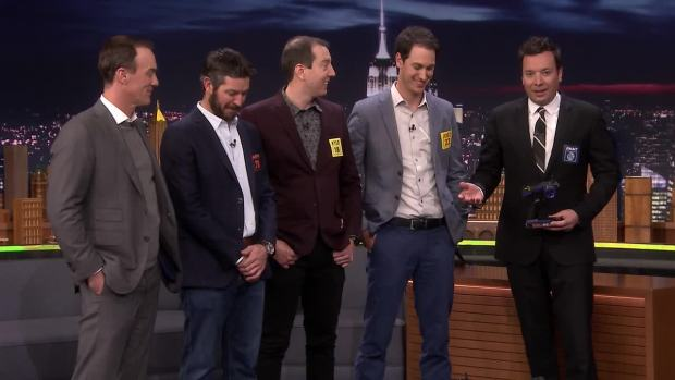 [NATL] 'Tonight': RC Pro-Am Race With NASCAR Championship Four
