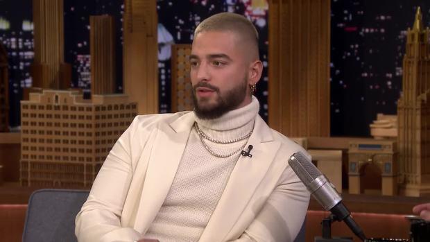 [NATL] 'Tonight': Maluma Wants to Collab With Justin Timberlake