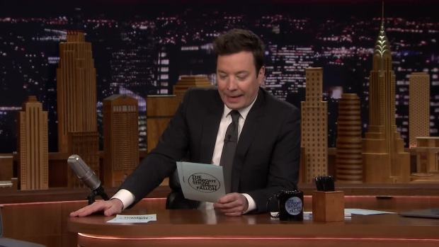 [NATL] 'Tonight': Jimmy Shares 5-Word New Year's Resolution Tweets