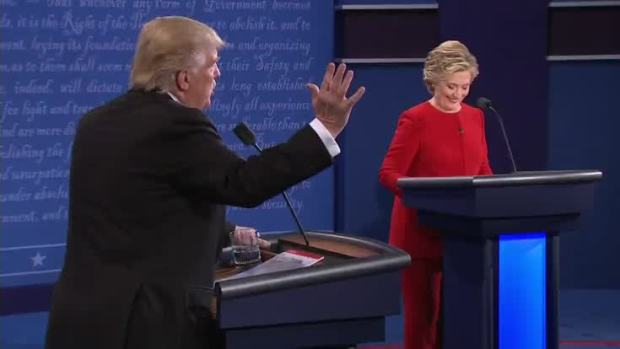 Presidential Debate: Trump Comments on His Temperament