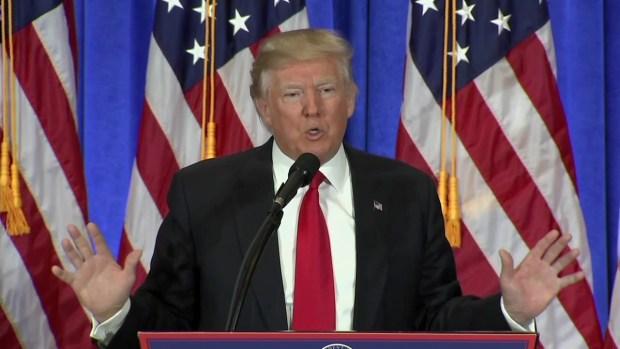 Trump Refuses CNN Question at Press Conference