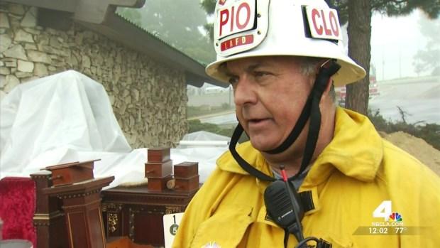 [LA] Firefighters Save Elks Lodge's Treasured Items