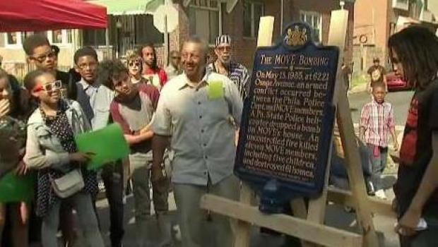 Historic Marker at Move Bombing Site
