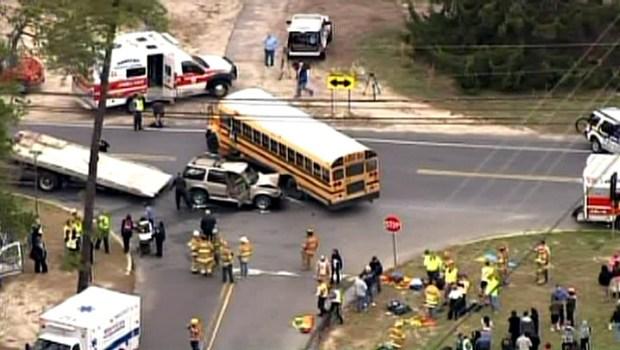 Students Hurt in NJ School Bus Crash
