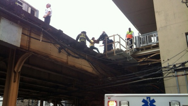 CTA Red Line Train Derailment