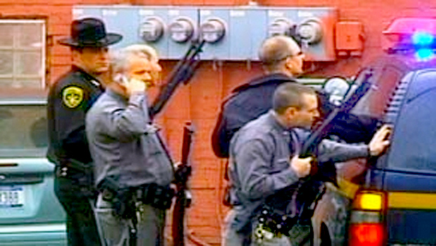 Dramatic Photos: Bloodshed in Binghamton