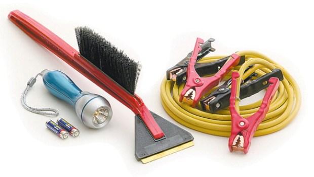 Emergency Road Kit Items