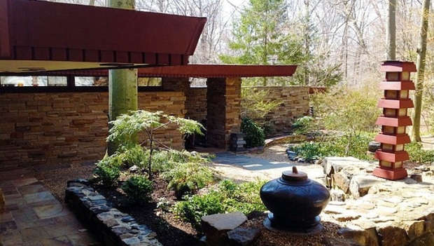Buy Delaware's Only Frank Lloyd Wright Home