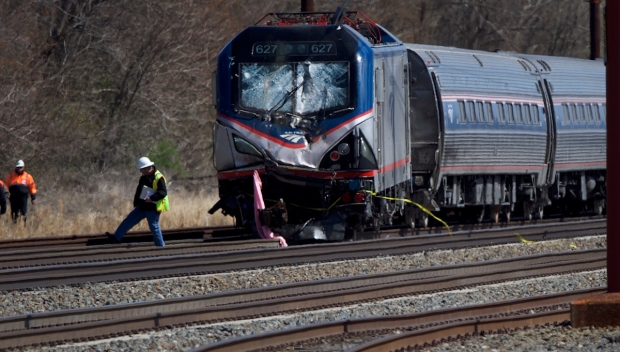 Amtrak Train Derails Near Philadelphia