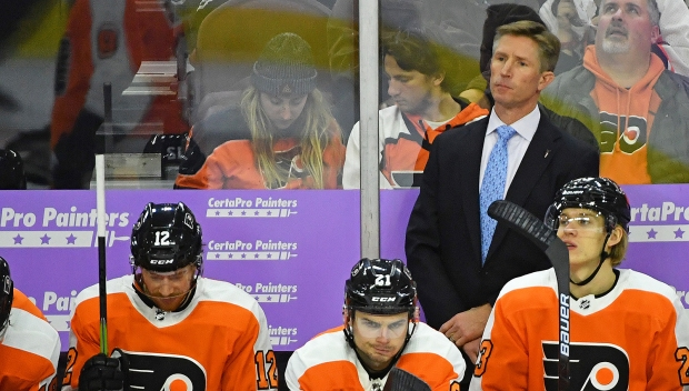 Flyers Fire Dave Hakstol