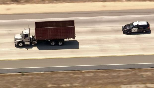 Driver of Stolen Truck Leads Police on 2-County SoCal Chase