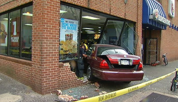 PHOTOS: Burger King Crash Aftermath