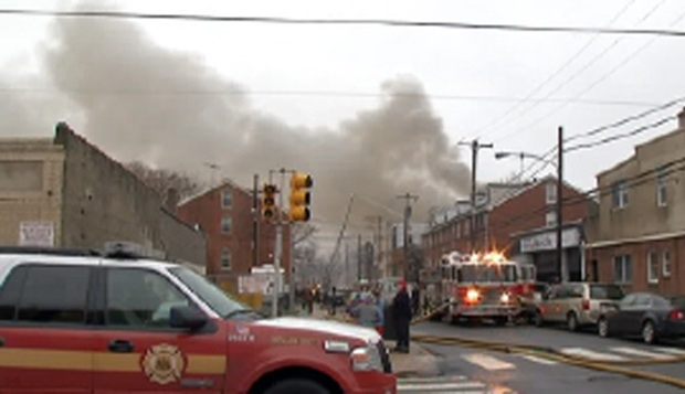 [PHI] Warehouse Fire Destroys Mummers Props, S Philly Homes