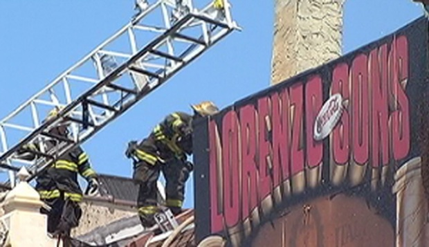 [PHI] Fire at South Street Pizza Shop
