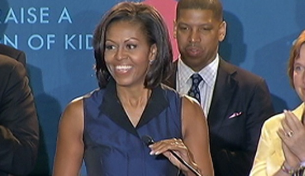 [PHI] Michelle Obama Promotes Anti-Obesity in Philly