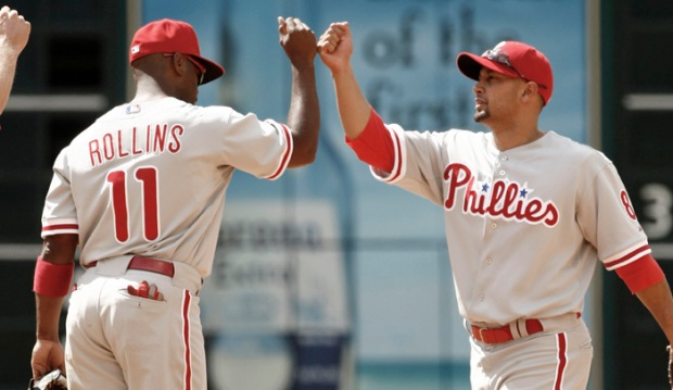 [PHI] Rollins Says Victorino Was His Little Brother