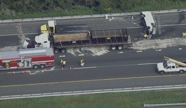 Another Crash Snarls-95 Traffic