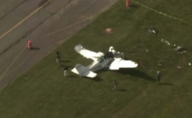 [PHI] Plane Crash Seriously Injures Two in Millville, New Jersey