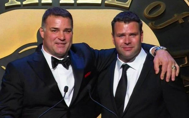 [PHI] Eric Lindros Joins Hockey Hall of Fame