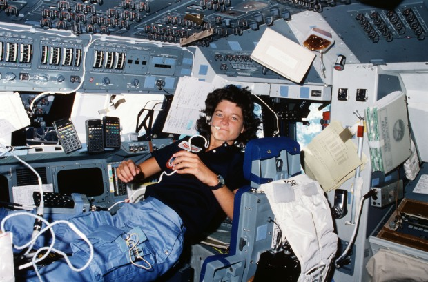[NATL-LA]PHOTOS: 35 Years Ago, Astronaut Sally Ride Became the First American Woman in Space