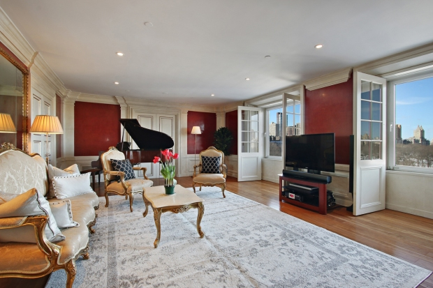 David Bowie's NYC Apartment and Piano for $6.5 For Sale