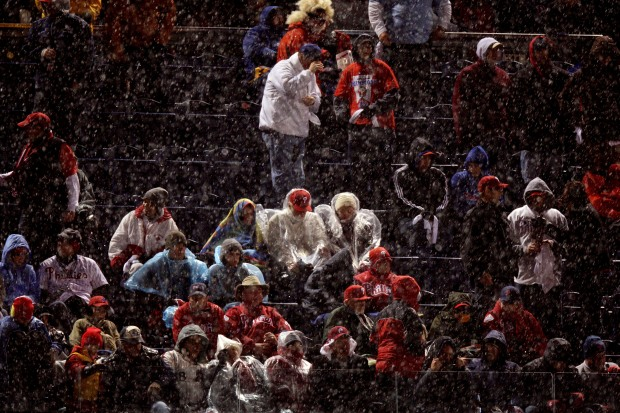Rain Wipes Out Game 5 of the World Series