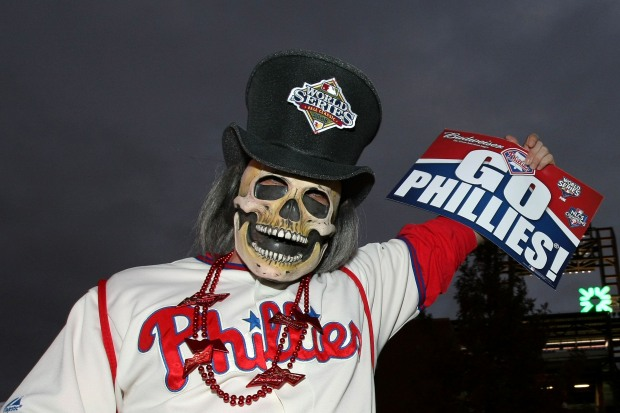 A Scary Night at the World Series