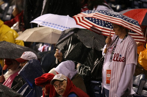 Game 3 Gets Off to Wet, Late Start