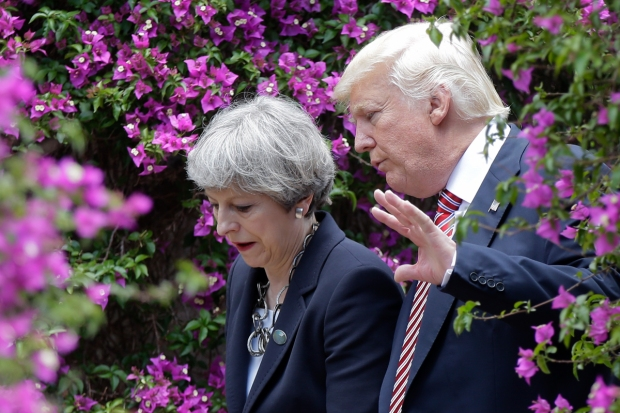 Trump condemns 'evil losers' for Manchester attack