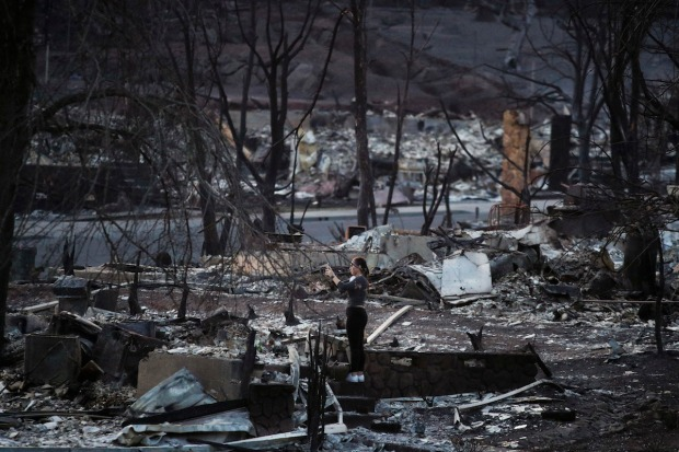 California Inferno: Images From Northern California's Deadly Fires