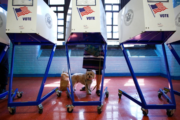 [NATL] New Yorkers Vote in Contested Primary: April 19