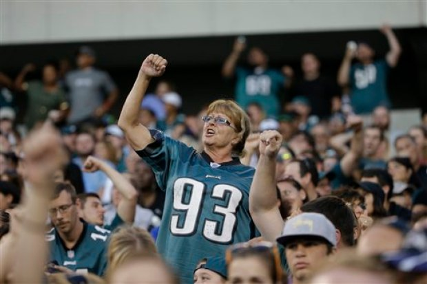 Eagles Fans Uber Faithful: Study