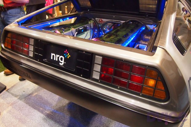Images of the Electric Delorean at CES 2012