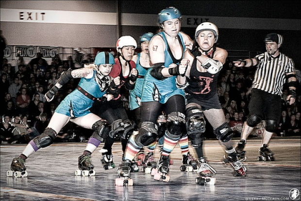 Philly Roller Girls In Action