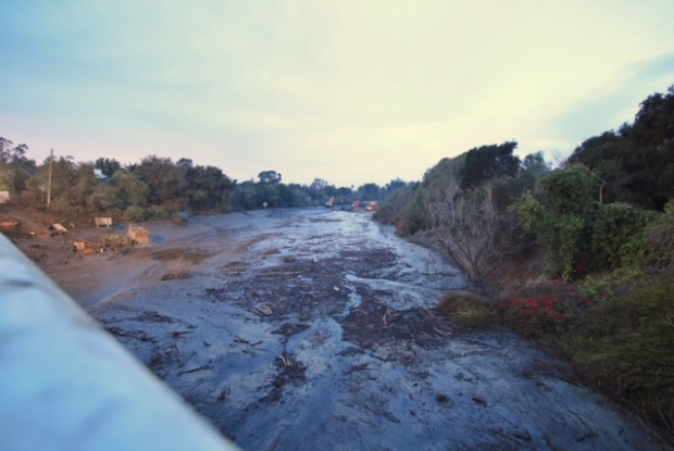 [NATL-LA] January Storm Photos: Southern California Mudslides Leave Path of Destruction