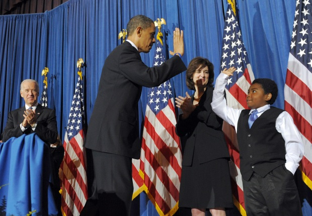 [NATL *DO NOT USE*] Obama's Littlest Constituents