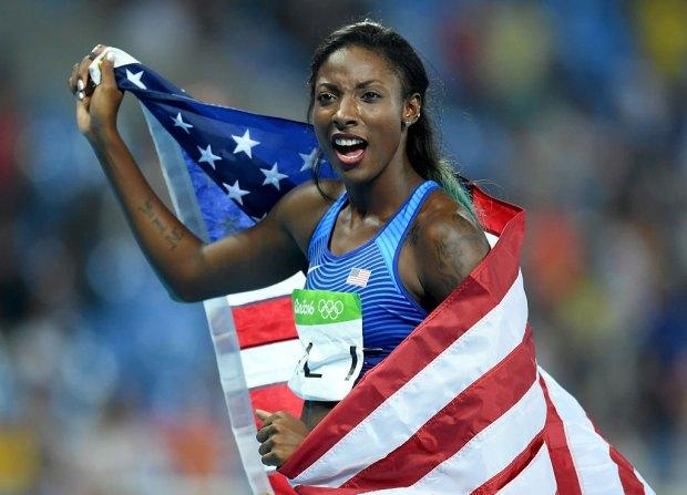Nia Ali's Historic Olympic 'Sweep' Night
