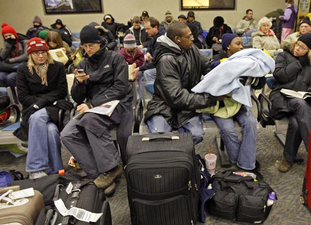 Travel Still Messy on Holiday