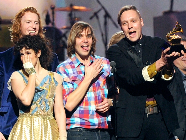 "[NBCAH] Arcade Fire in Shock: ""We Got All The Underdog Votes"" To Win Album Of The Year"