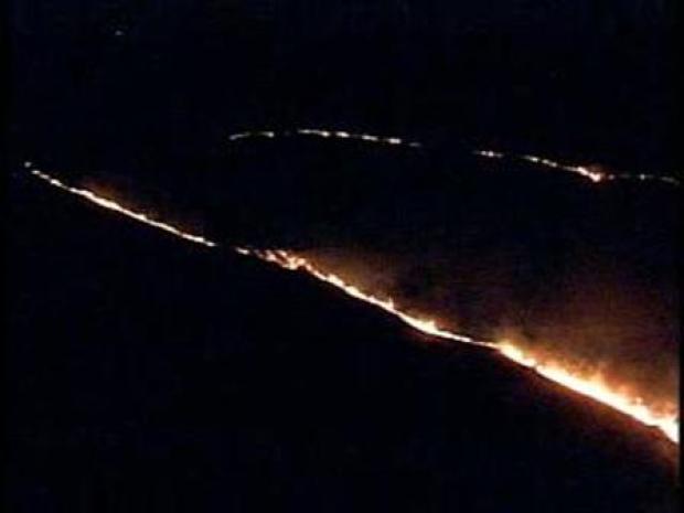 [PHI] Brush Fire Burns in Salem County