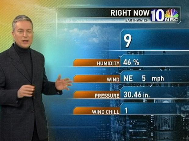 [PHI] EarthWatch Forecast: Yes, Single Digits Greet Morning Commuters
