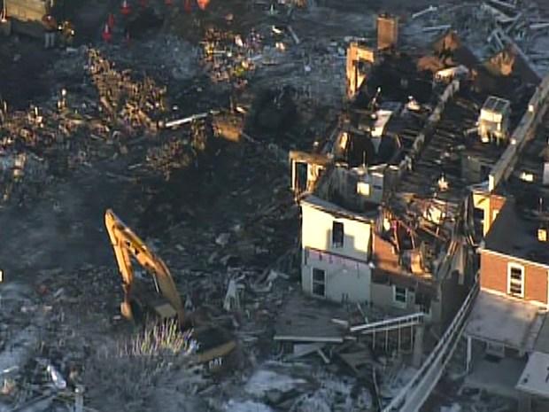 [PHI] Allentown Explosion Destorys Life, Property