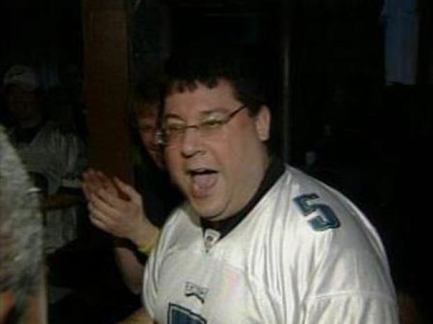 [PHI] Eagles Fans Celebrate a Giant Win
