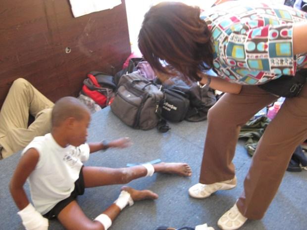 Miami Medic in Haiti
