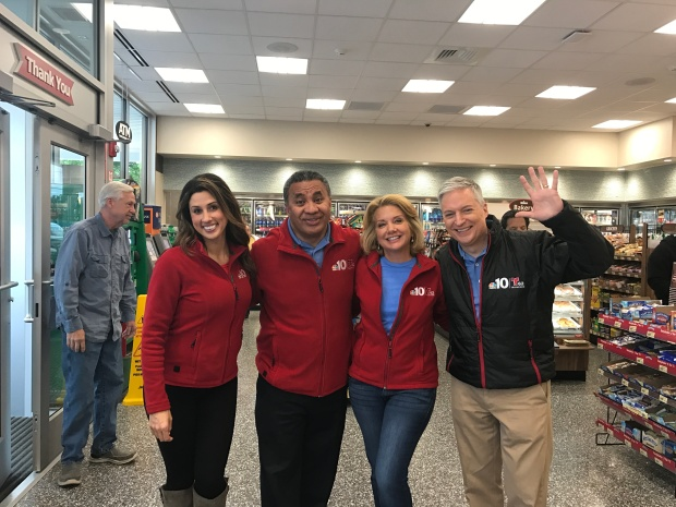 NBC10 Mornings On The Road At Wawa In NJ