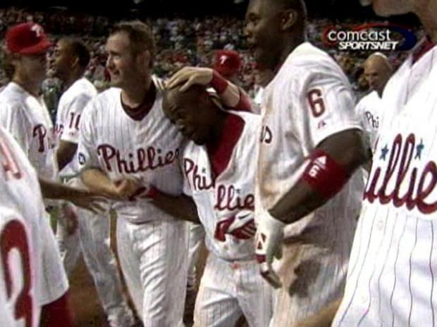[PHI] Video of Jimmy Rollins' Walk-Off Homer